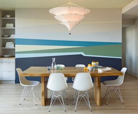 креативная покраска стен