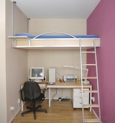 двухъярусная планировка спальни