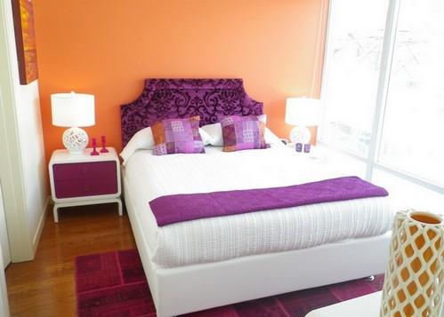 цвета для узкой спальни