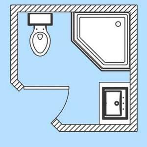 примеры расположения душевой кабины в ванной