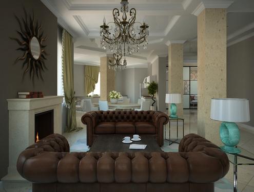 классическая гостиная