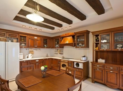 столешница для деревянной кухни