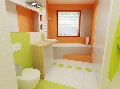 комбинация плитки в ванной