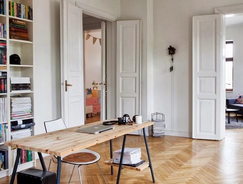 белые двери в интерьере фото