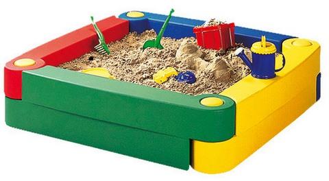 пластиковая песочница для дачи