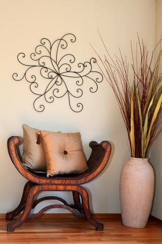 как декорировать углы в квартире