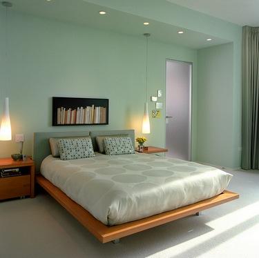 зеленая спальня от бессонницы