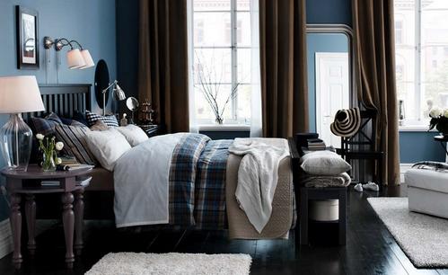 синяя спальня от бессонницы