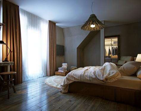 темная спальня от бессонницы
