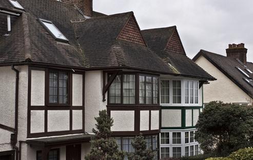 дома в английском стиле тюдоров