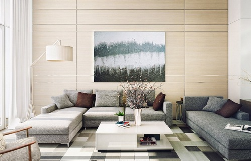 какую картину повесить над диваном