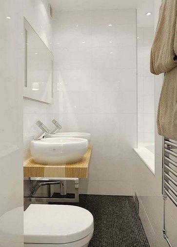 способ укладки плитки в ванной