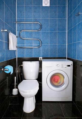 плитка в туалете: по горизонтали или вертикали?
