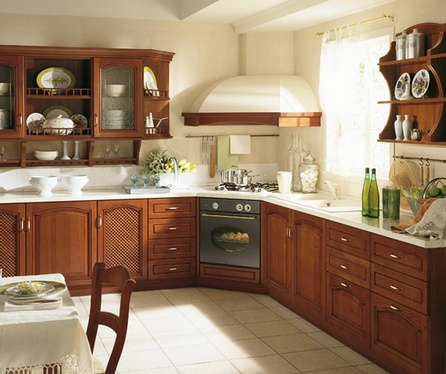 как располагать духовку на кухне