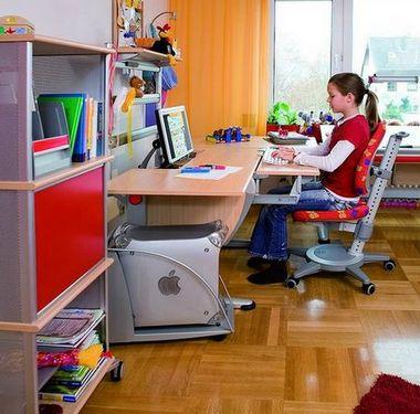 рабочее место школьника