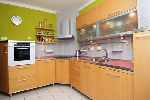 планировка угловой кухни