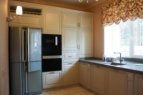варианты дизайна угловой кухни