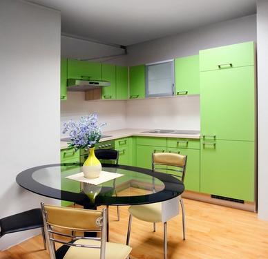 небольшая угловая кухня фото