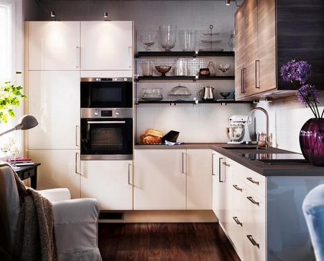 угловые секции на кухне: варианты