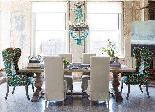 кресла в английском стиле в интерьере дома