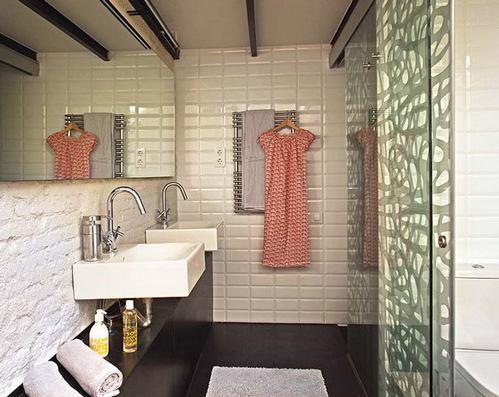 плитка метро в ванной