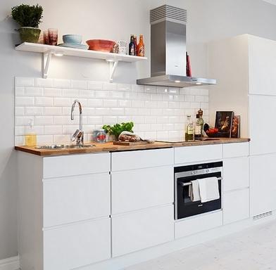 кухонный фартук с плиткой кабанчик