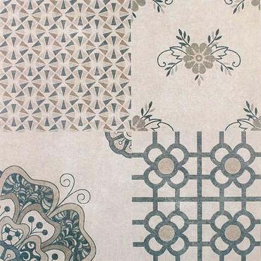 плитка в стиле лоскутного одеяла