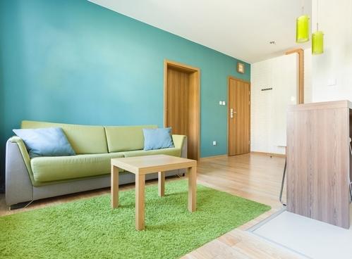 комбинация бирюзового цвета с зеленым