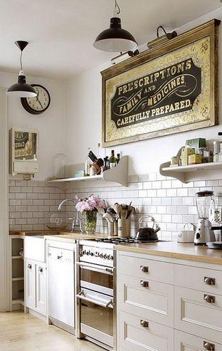 кухня без верхних шкафчиков