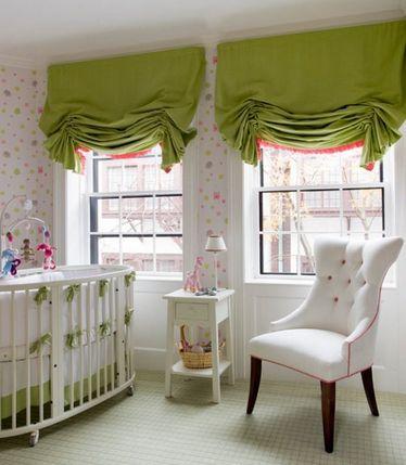 короткие лондонские шторы
