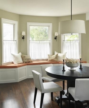 короткие шторы кафе для кухни