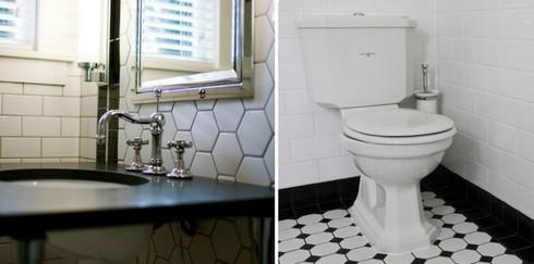 плитка для ванной в стиле арт-деко