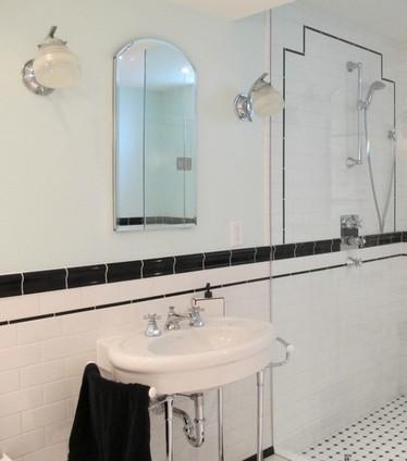 стиль арт-деко в ванной