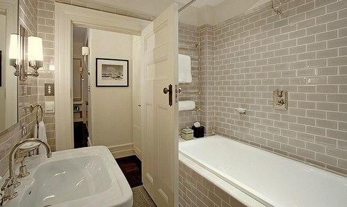 стиль ар-деко в интерьере ванной