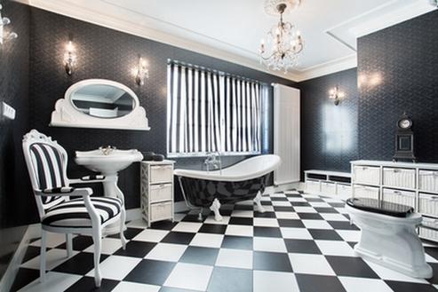 ванная в стиле ар-деко
