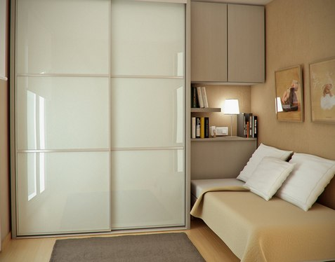 расположение шкафа в комнате: идеи