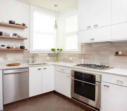 цвет фартука на кухне