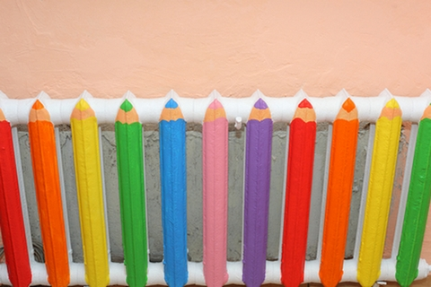 батарея карандаши
