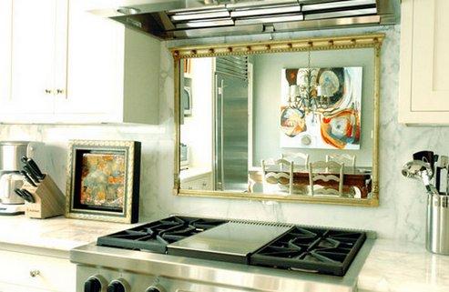 зеркало на кухне по фэн-шуй