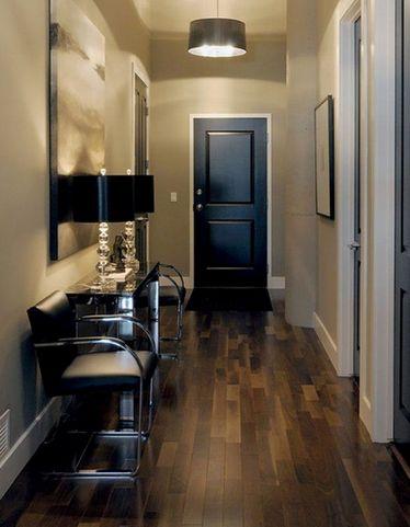 плинтус и дверные наличники одного цвета