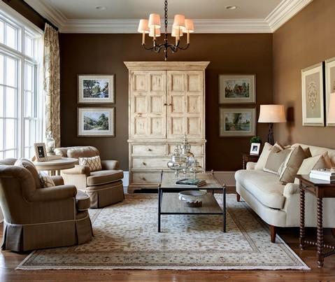 разная мебель в одной комнате