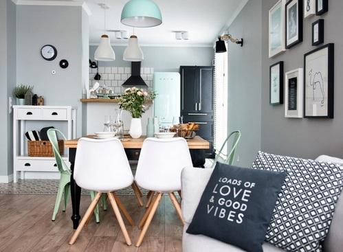 сочетание мебели в интерьере
