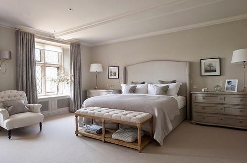 спальня в классическом американском стиле