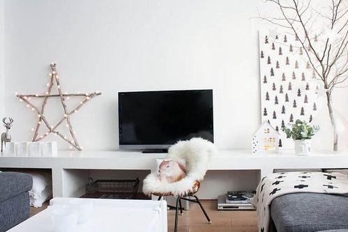 зимний декор квартиры