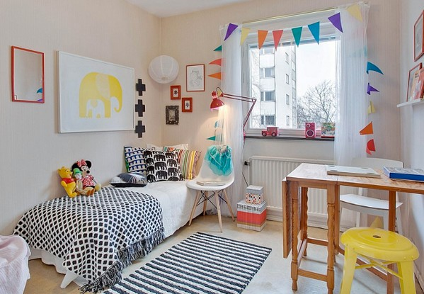 скандинавская детская комната
