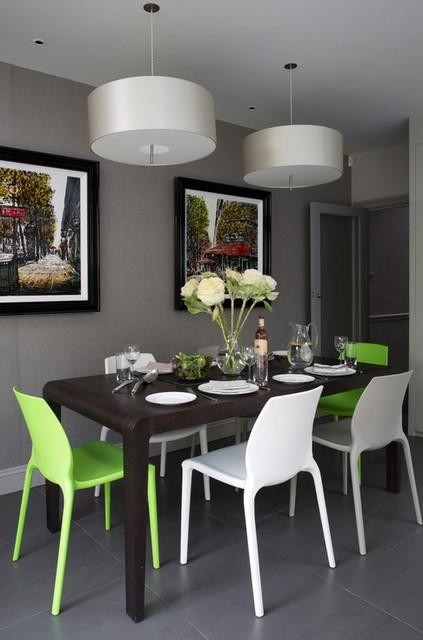 стулья цвета лайм