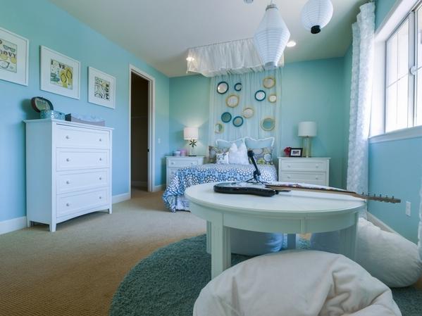 Бирюзовая спальня: успокоит и исцелит