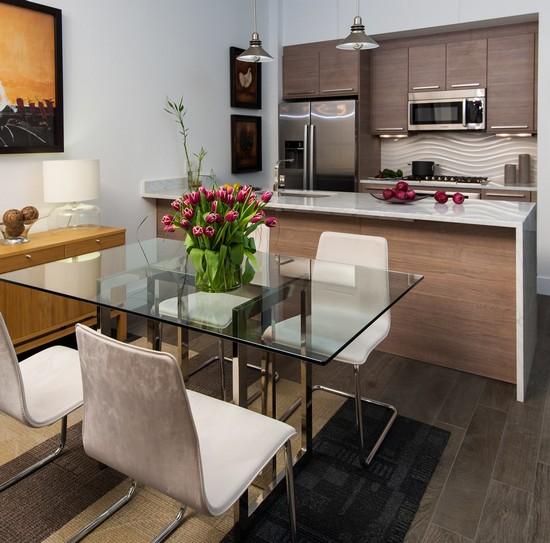 декор стола на кухне