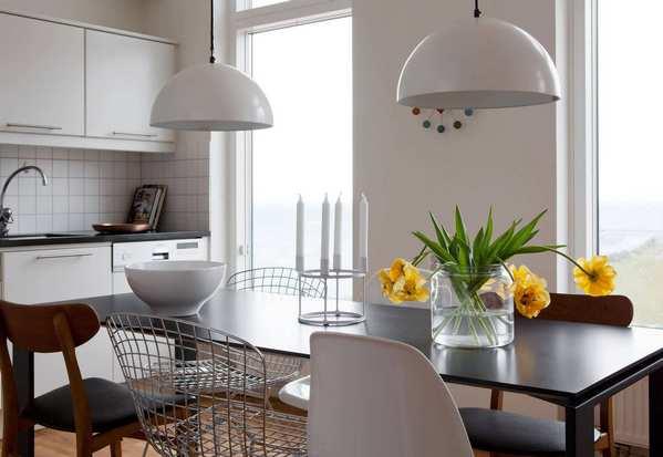 повседневный декор стола на кухне