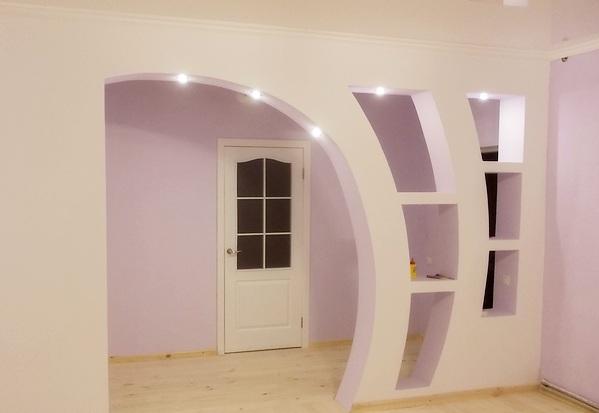 арка в интерьере